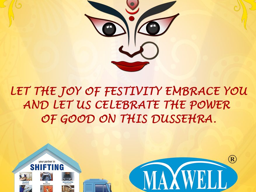 Dussehra celebrations at Maxwell relocations