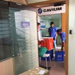Cavium Network Office Move in Hyderabad by Our Hyderabad Team – Maxwell Relocations