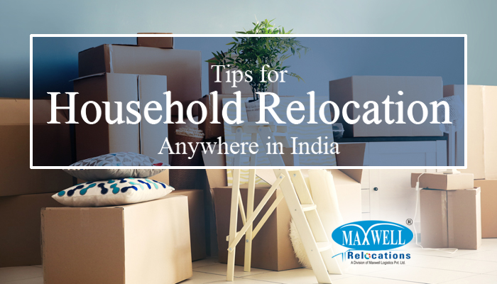 Tips for household relocation