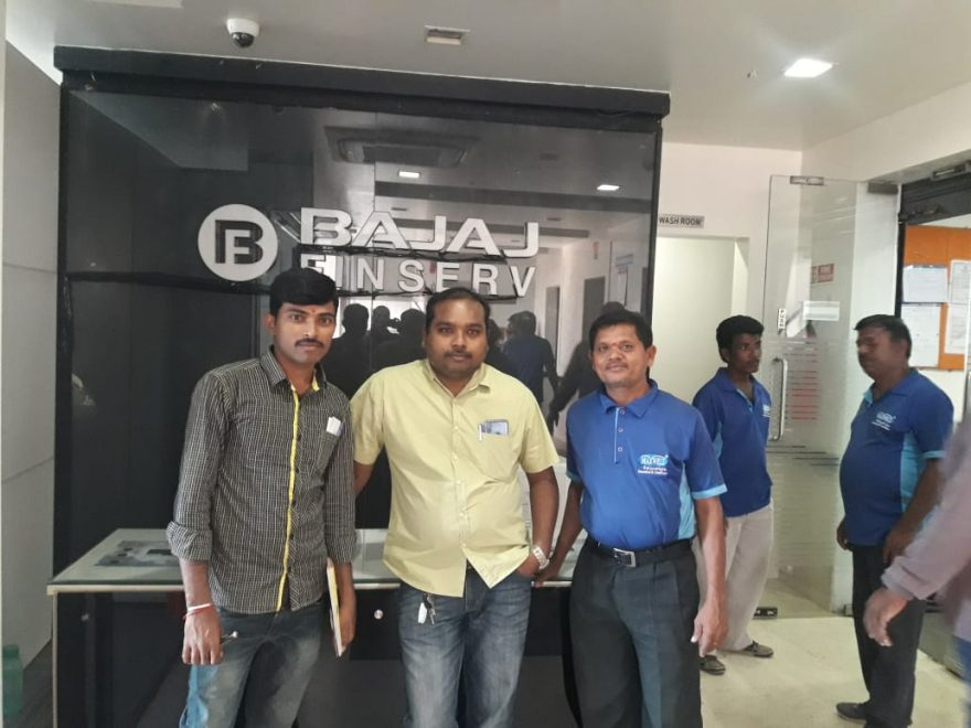 Bajaj Finserv Office Shifting