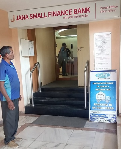 jana bank office move