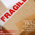 How do you pack fragile items or crockery, paintings and decorative articles?