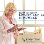 How to Verify Movers and Packers in Mumbai?