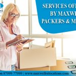 Services offered by Maxwell Packers and Movers