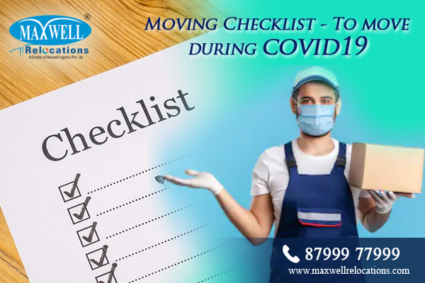 Moving Checklist - To move during covid19