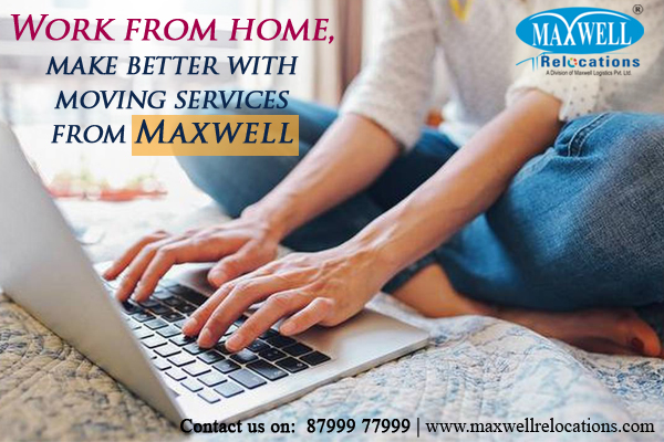 Work From Home Move with Maxwell Relocations