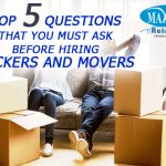 Top five questions that you must ask before hiring packers and movers