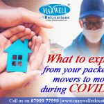What to expect from your packers and movers to move during covid19?