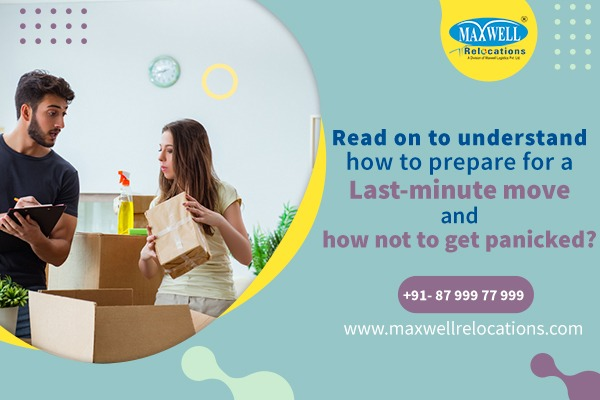 6. Last-minute move and how not to get panicked?
