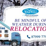 Be Mindful of Weather During Relocation – Maxwell Relocations