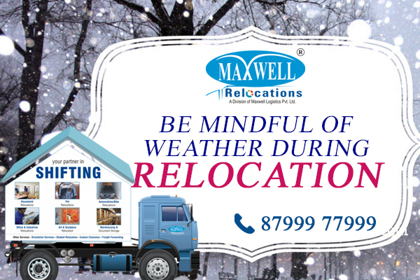 Be Mindful of Weather During Relocation
