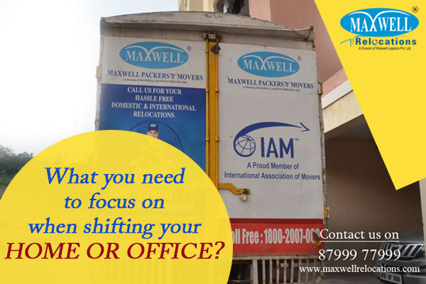 Office or Home Shifting Services